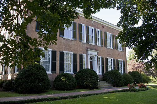 "The Federal Hill mansion in Bardstown, KY, was the inspiration for Stephen Foster's song, ""My Old Kentucky Home."""