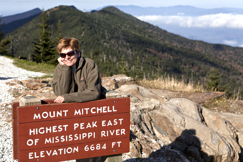 Mount Mitchell Tallest Peak
