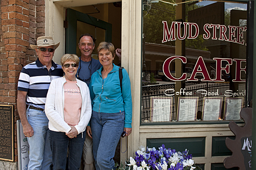 Mud Street Cafe, Eureka Springs, AR
