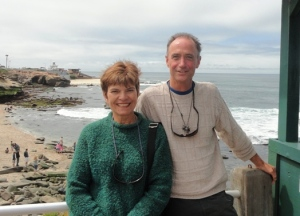 Rose and David Muenker at La Jolla