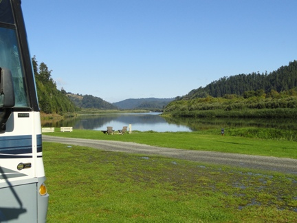 Klamath River RV Site