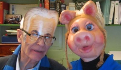 Einstein and Miss Piggy